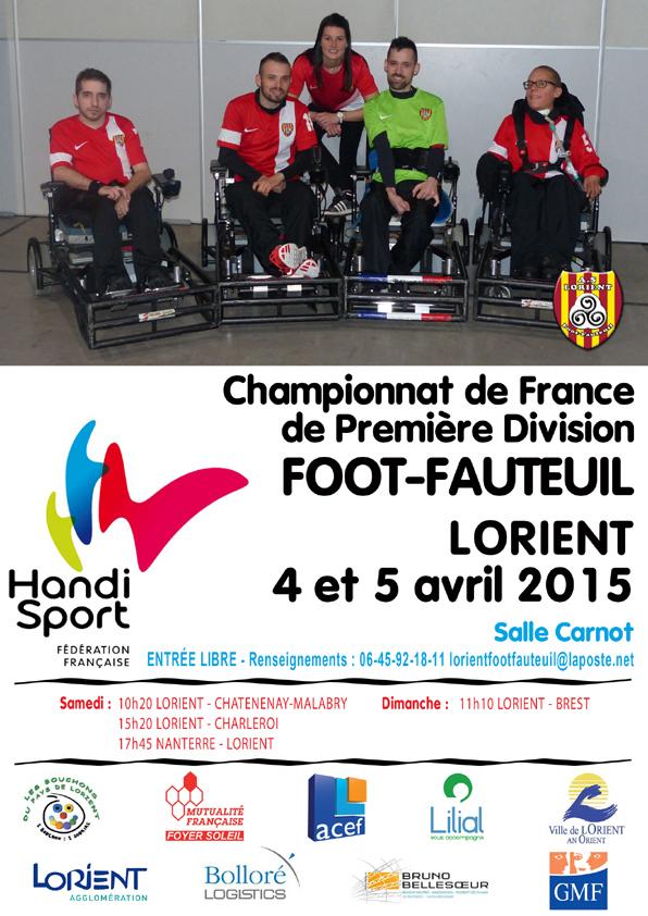 affiche d1 lorient 2015