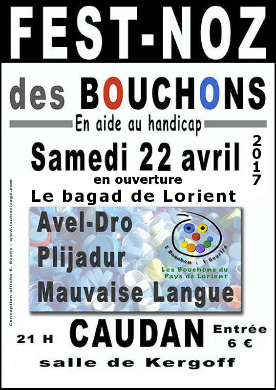 fest noz les bouchons du pays de Lorient avril 2017