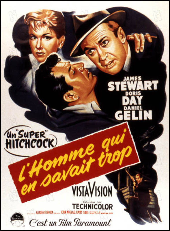 the man who knew too much l'homme qui en savait trop 1956 réal : Alfred Hitchcock Collection Christophel